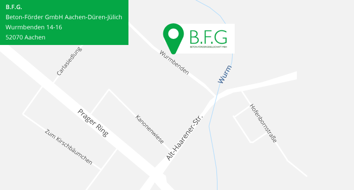 Anfahrt BFG